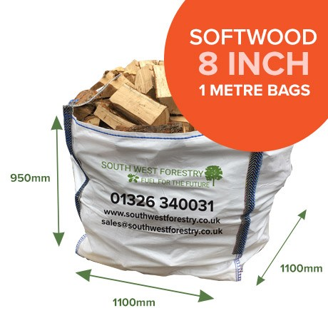 1 Cubic Metre Bags of Softwood