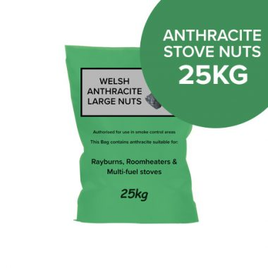25kg Bags of Anthracite Large Stove Nuts