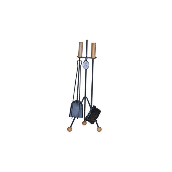 Companion Set Steel & Wood