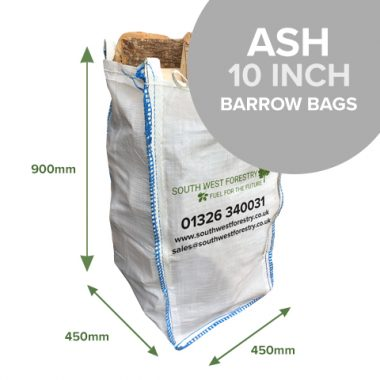 Barrow Bags of Kiln Dried Ash Hardwood