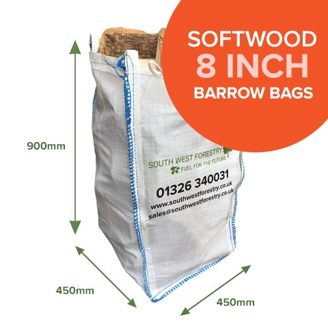 Barrow Bags of Kiln Dried Softwood