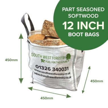 Boot Bags of Part Seasoned Softwood