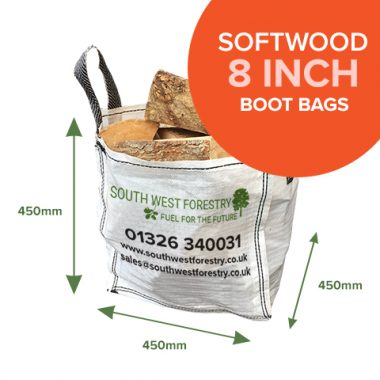 Boot Bags of Kiln Dried Softwood