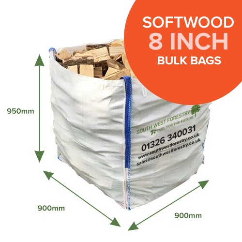 Bulk Bags of Kiln Dried Softwood