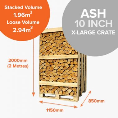 Kiln Dried Ash in Full Crates