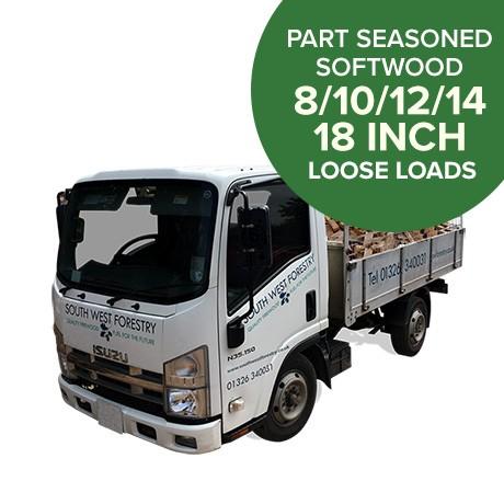 Part Seasoned Softwood Loose Load