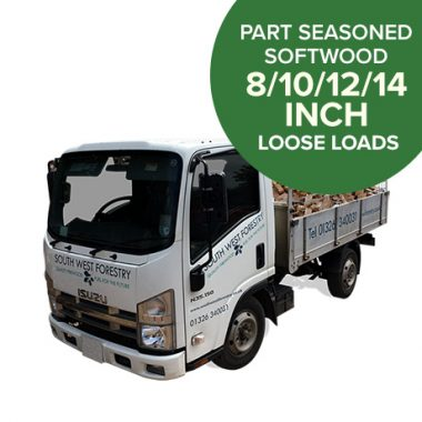 Part Seasoned Softwood - Loose Load