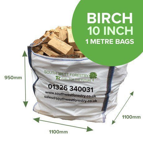 1 Cubic Metre Bags of Birch