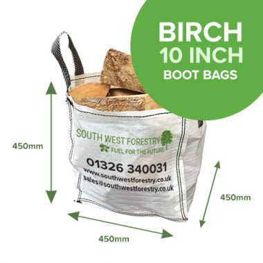 Boot Bags of Kiln Dried Birch