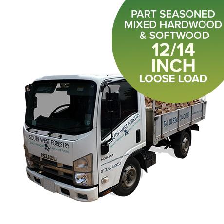 Part Seasoned hardwood - Loose Load