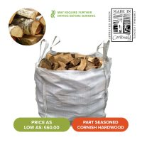 Summer Sale - Bulk Bags of Part Seasoned Hardwood