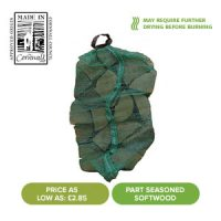 Summer Sale - Part Seasoned Softwood