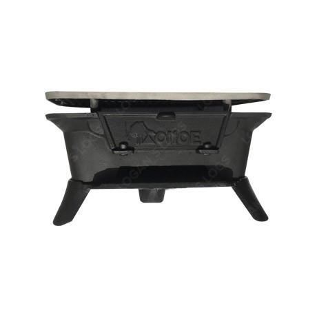 BBQ HIBACHI Deluxe Cast Iron - Front