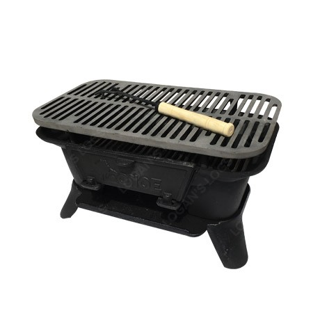 BBQ HIBACHI Deluxe Cast Iron - Side