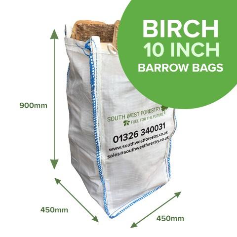 Barrow Bags of Kiln Dried Birch
