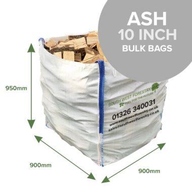 Bulk Bags of Ash Hardwood