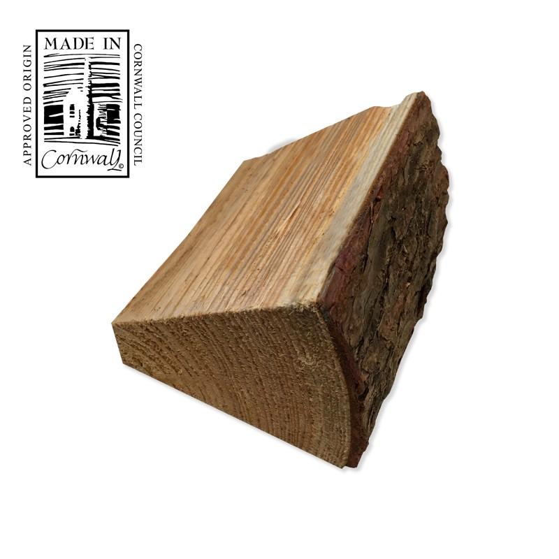 Kiln Dried Softwood Cottage Log - Close Up