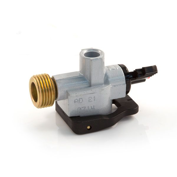 21 mm clip-on x 21.8 LH Adaptor for Gas Bottles
