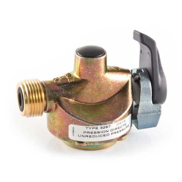 27 mm clip-on Adaptor for Gas Bottles