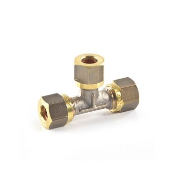 8 mm - Tee - LPG Metric Compression Fitting