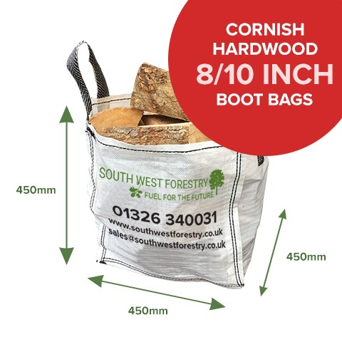 Boot Bags of Kiln Dried Firewood