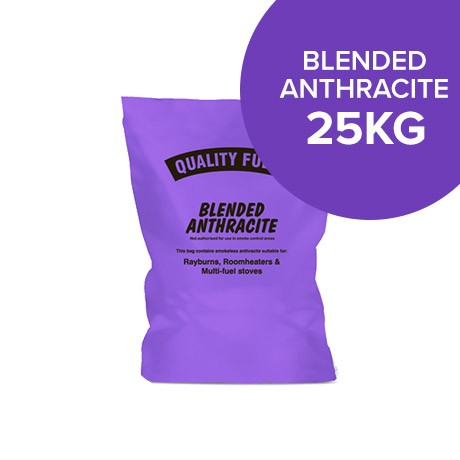25kg Bags of Blended Anthracite