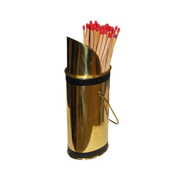 Brass Match Holder