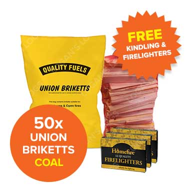 Special Offer - Union Bricketts 50