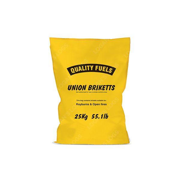 25kg Bags of Union Briquettes