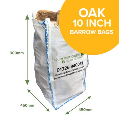 Barrow Bags of Kiln Dried Oak