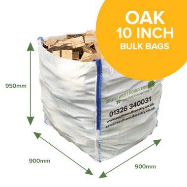 Bulk Bags of Oak Hardwood