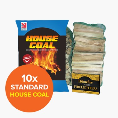 Special Offer: 10 Standard House Coal