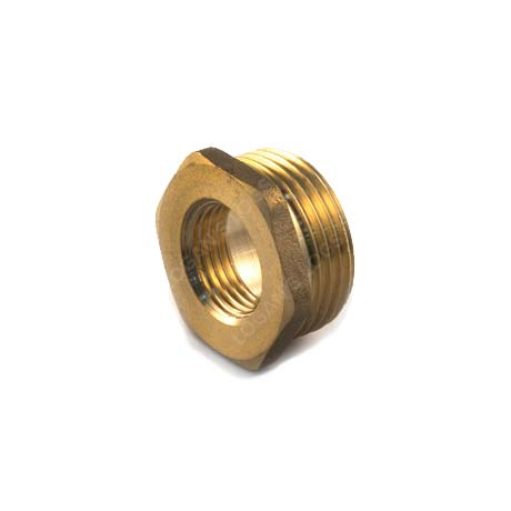 Brass Threaded Hexagon Bush