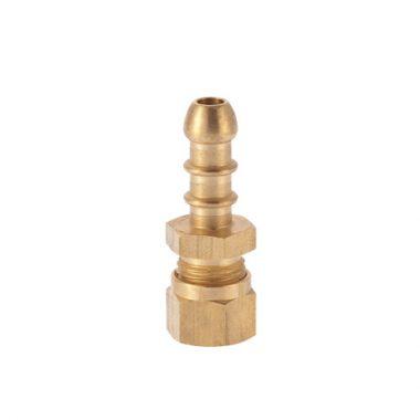 Fulham Gas Hose Nozzle x 8mm Compression