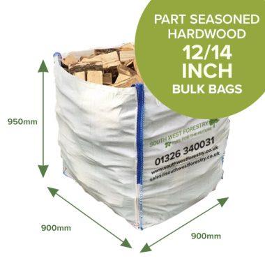 Bulk Bags - Part Seasoned Hardwood