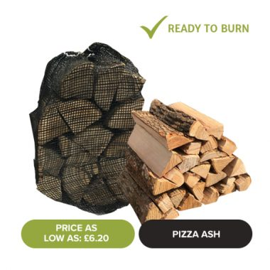 Kiln Dried Pizza Ash - Netted Logs