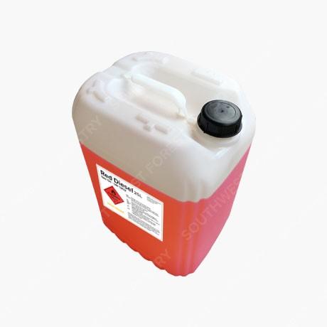 25L Red Diesel - Top