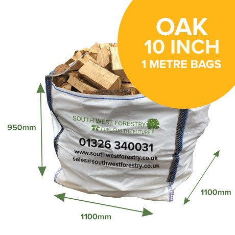 1 Cubic Metre Bags of Oak