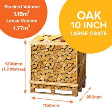 Kiln Dried Oak in Large Crates