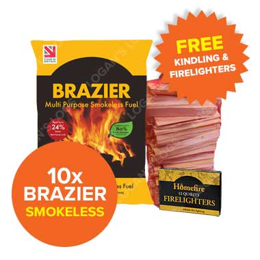 Special Offer - 10 Bags of Brazier