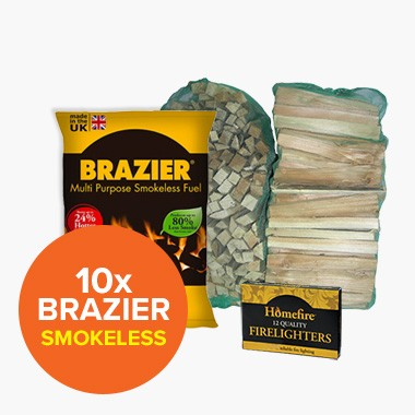 Special Offer: 10 Brazier Smokeless