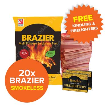 Special Offer - 20 Bags of Brazier