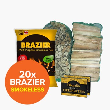 Special Offer: 20 Brazier Smokeless
