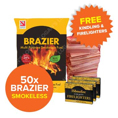 Special Offer - 50 Bags of Brazier