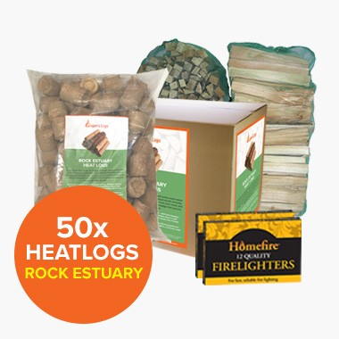Special Offer: 50 Rock Estuary Heatlogs