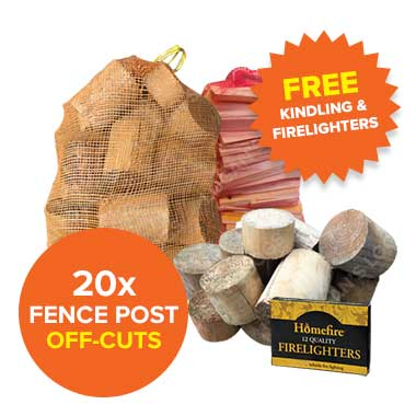 Special Offer - 20 Fence Post Off-cuts