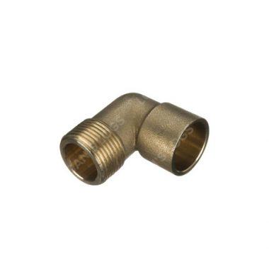 "Brass Solder Ring 15mm - 1/2"" Male Iron"