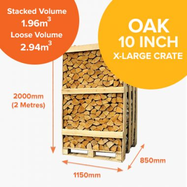 Kiln Dried Oak - Full Crates