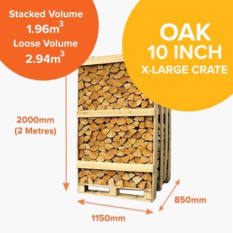 Kiln Dried Oak - Full Crates