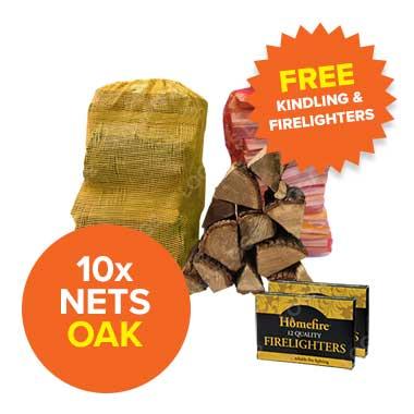 Special Offer - 10 Oak Nets